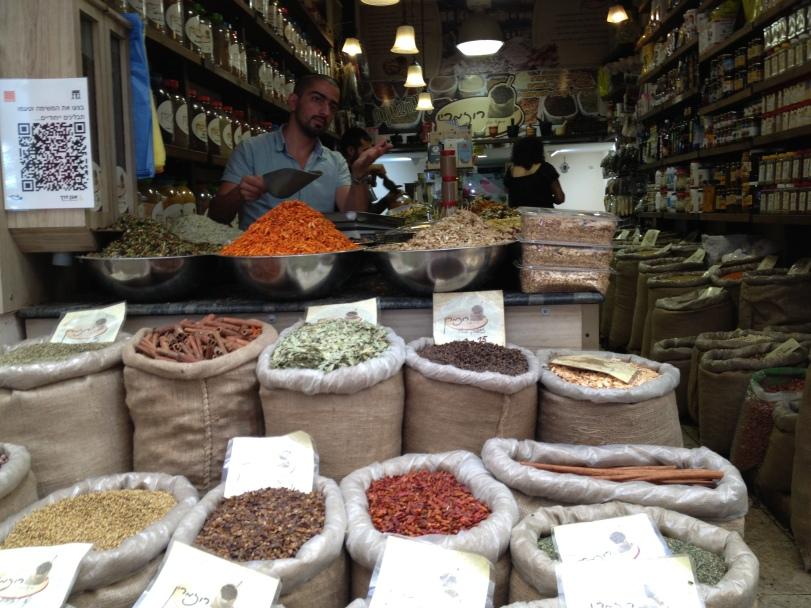 Spices at Machane Yehuda