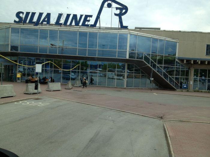 The Tallink Silja Port in Stockholm