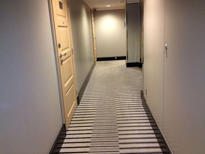 lobby of our floor