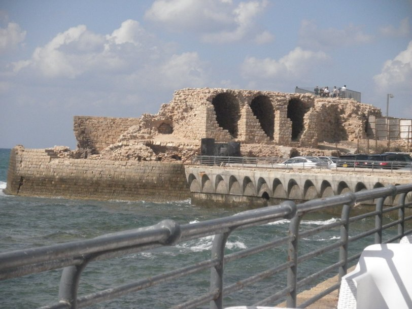 Ottoman inspired Ruins in Acre