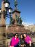 Aida, Rosa and I at the Senate square monument
