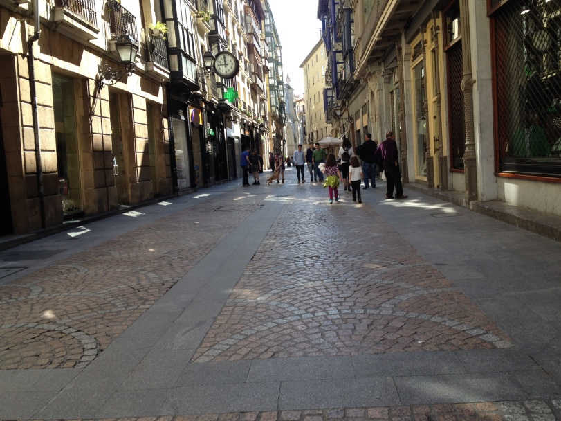Traversing the streets of the Old Town