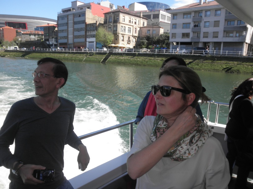 Anna, our guide explaining the sights to our group