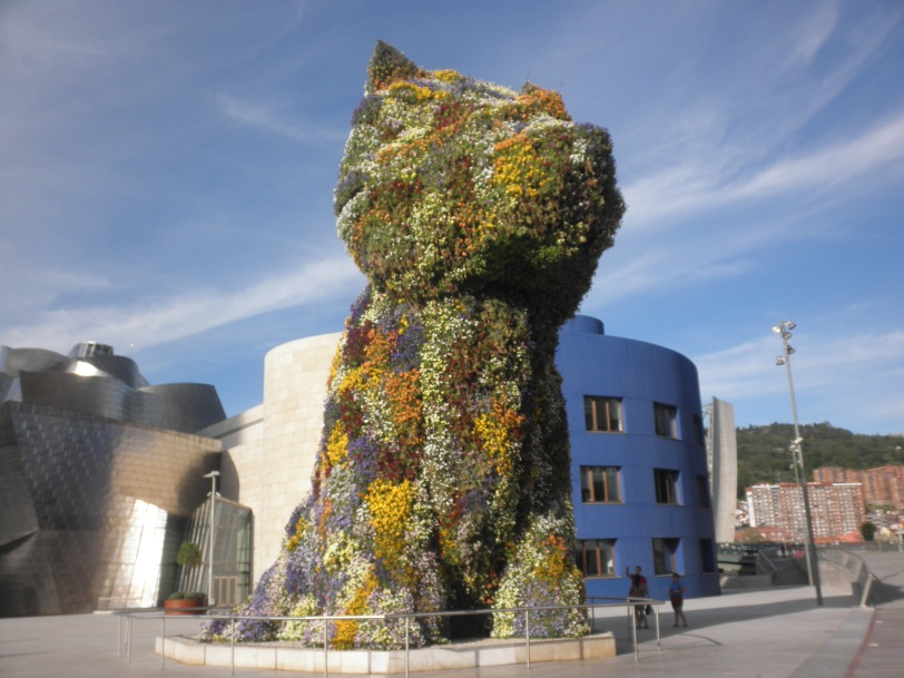 The Puppy by Jeff Koons