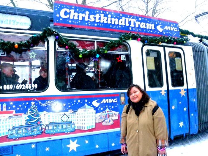 Munich Christkindl Tram